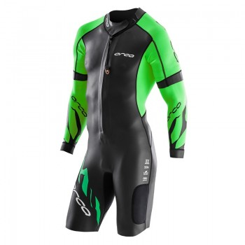 Orca Mens Swimrun Core Wetsuit with sleeves on