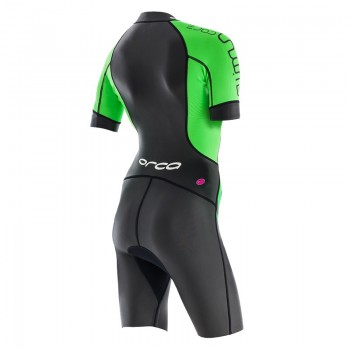Womens Orca swimrun core wetsuit back