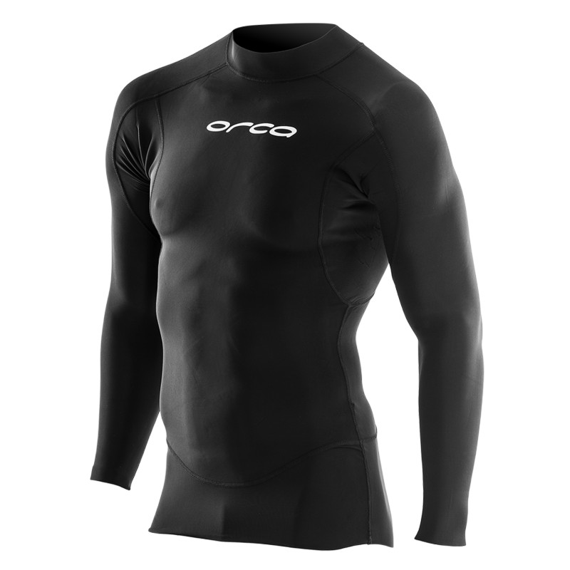 image of long sleeve base layer for swimming