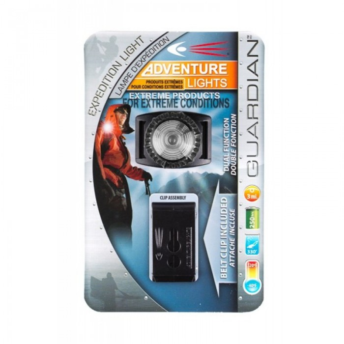 Guardian Expedition Light packaging