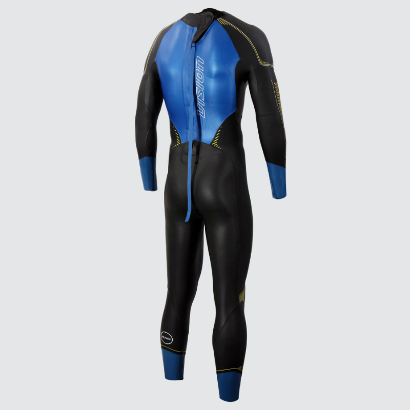 Zone3 Vision wetsuit back view
