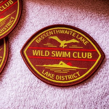 Bassenthwaite Swim badge brown