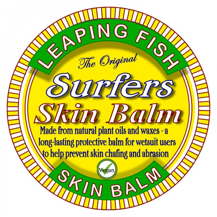 Surfers skin Balm label