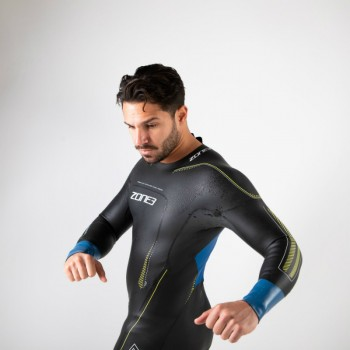 one3 Vision wetsuit chest view