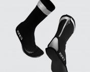 pair of neoprene swim socks