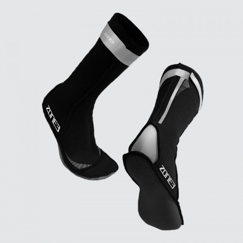 pair of neoprene swim socks