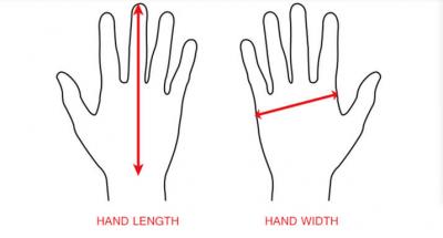 Hand Measurement for Swim Gloves