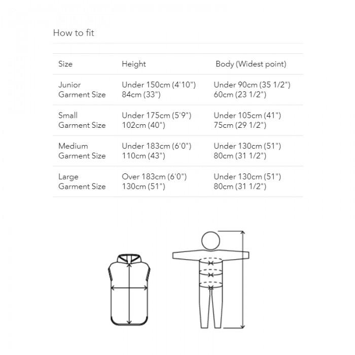 Robie Robes_Originals Size Guide
