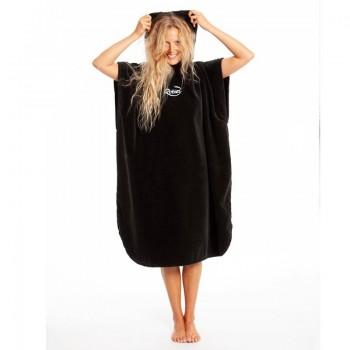 Robies Towel Changing Robe Black
