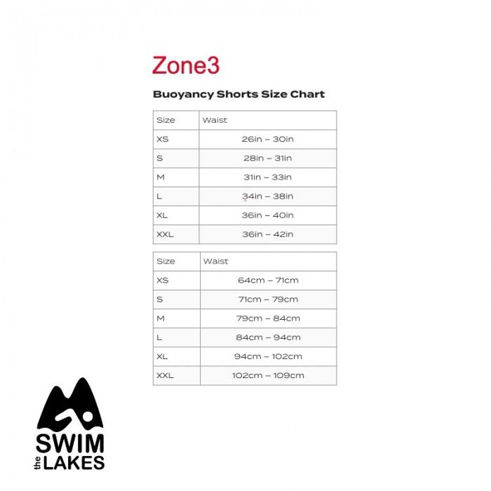 Zone3 Neoprene Swim Jammer Size Guide