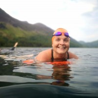 Buttermere Round Adventure Swim smile