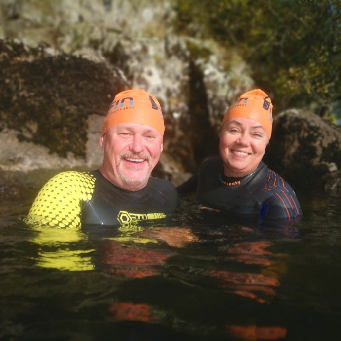 Windermere Swim Hike Gale Naze couple