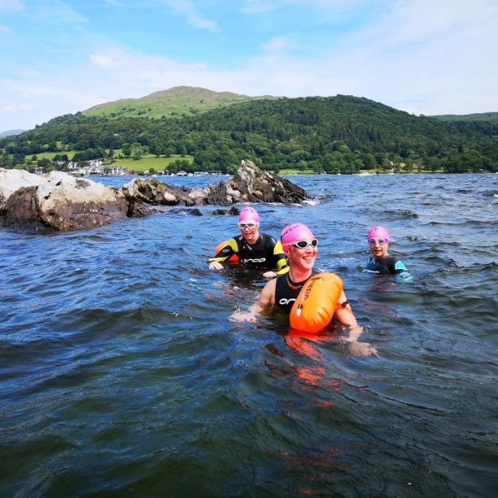 Windermere Swim Hike Seamew Crag
