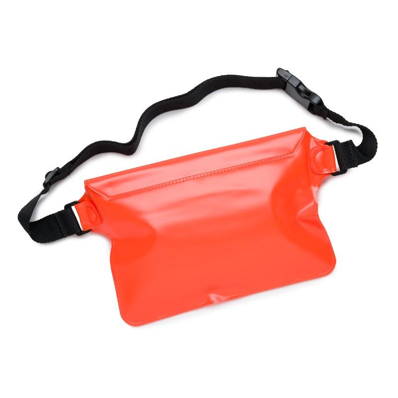 Puffin Swim Waterproof Waist pouch Orange rear