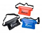 Puffin Waterproof Waist Pouch in 3 colours, blue, orange, black