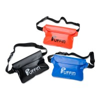 Puffin Waterproof Waist Pouch in 3 colours, blue, orange, black