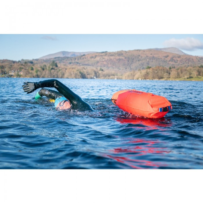 Puffin eco25 drybag tow float on Windermere