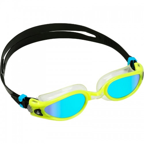 Kaiman Exo Blue Mirrored lens with yellow