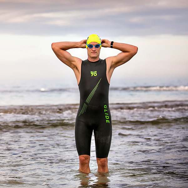 Mens Blueseventy Glide Wetsuit swimmer