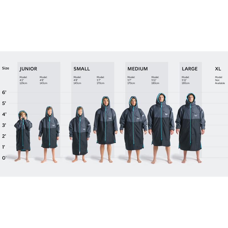 Robie Dry Series Robe_LS Size Chart