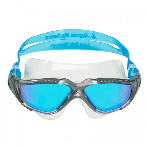 Aquasphere Vista Titanium Mirror Goggle_front