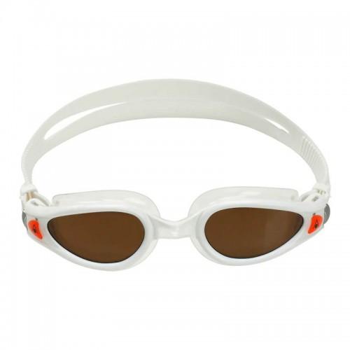 Kaiman EXO polarized goggle_Front_White-Brown
